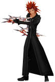 Axel Idle Render KHII.png