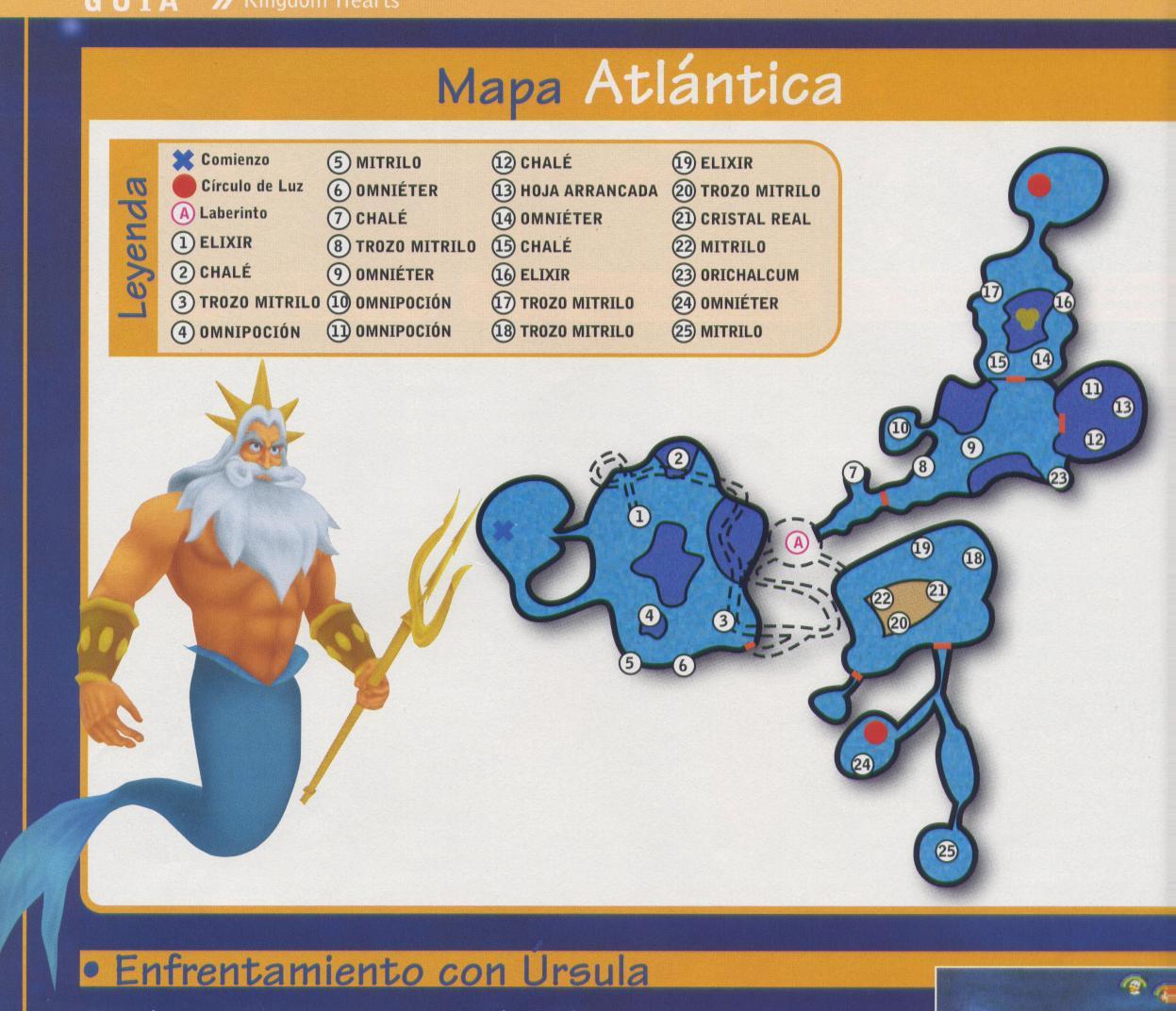 KHWorld V.4] // Mapas de los mundos de Kingdom Hearts
